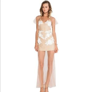 For Love and Lemons Balmy Nights Maxi XS